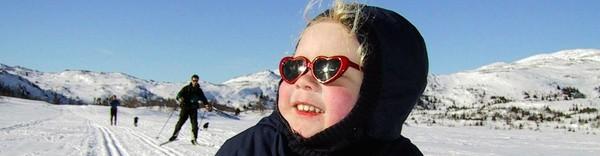 Barn på ski - Foto: Scanpix