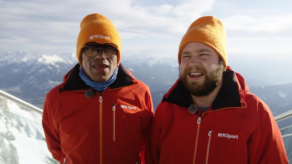 Special Olympics - Mats og Erling i Østerrike