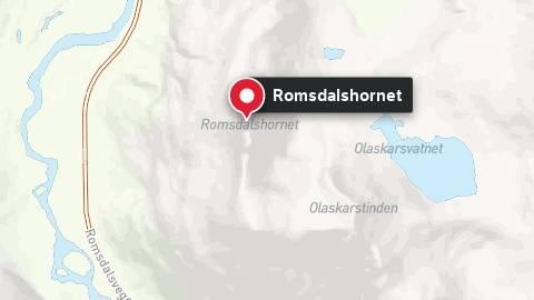 Fjellet Romsdalshorn