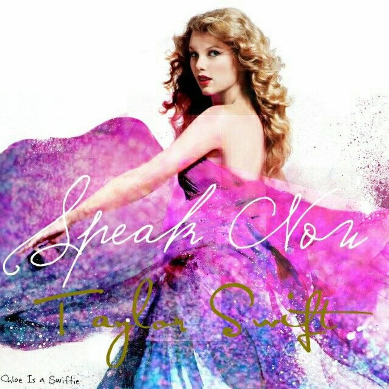 Taylor Swift - Speak Now-albumcover