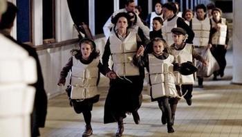 Kvinner og barn fra Titanic
