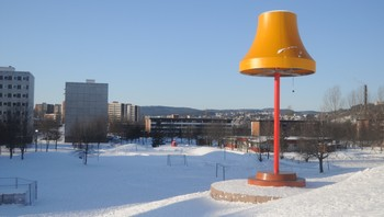 Stålampa på Haugestua sendes til Guinness rekordbok