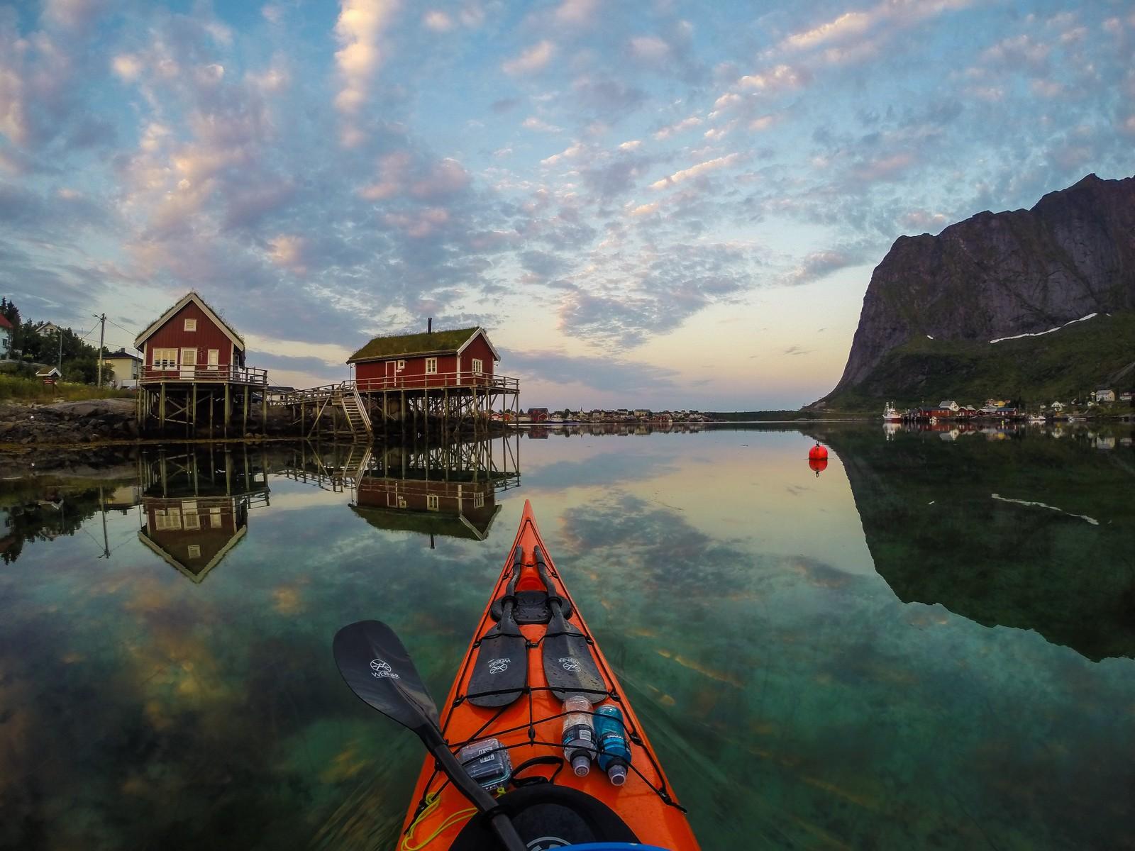 LOFOTEN: Ved Reine i Lofoten.