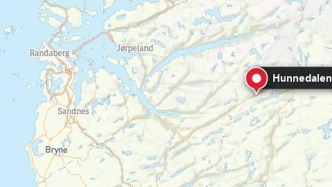 Kiteulykke i Hunnedalen