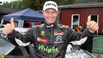 Petter Solberg jubler i Tyskland