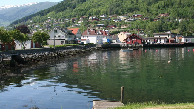 Vikøyri. Foto: Ottar Starheim, NRK