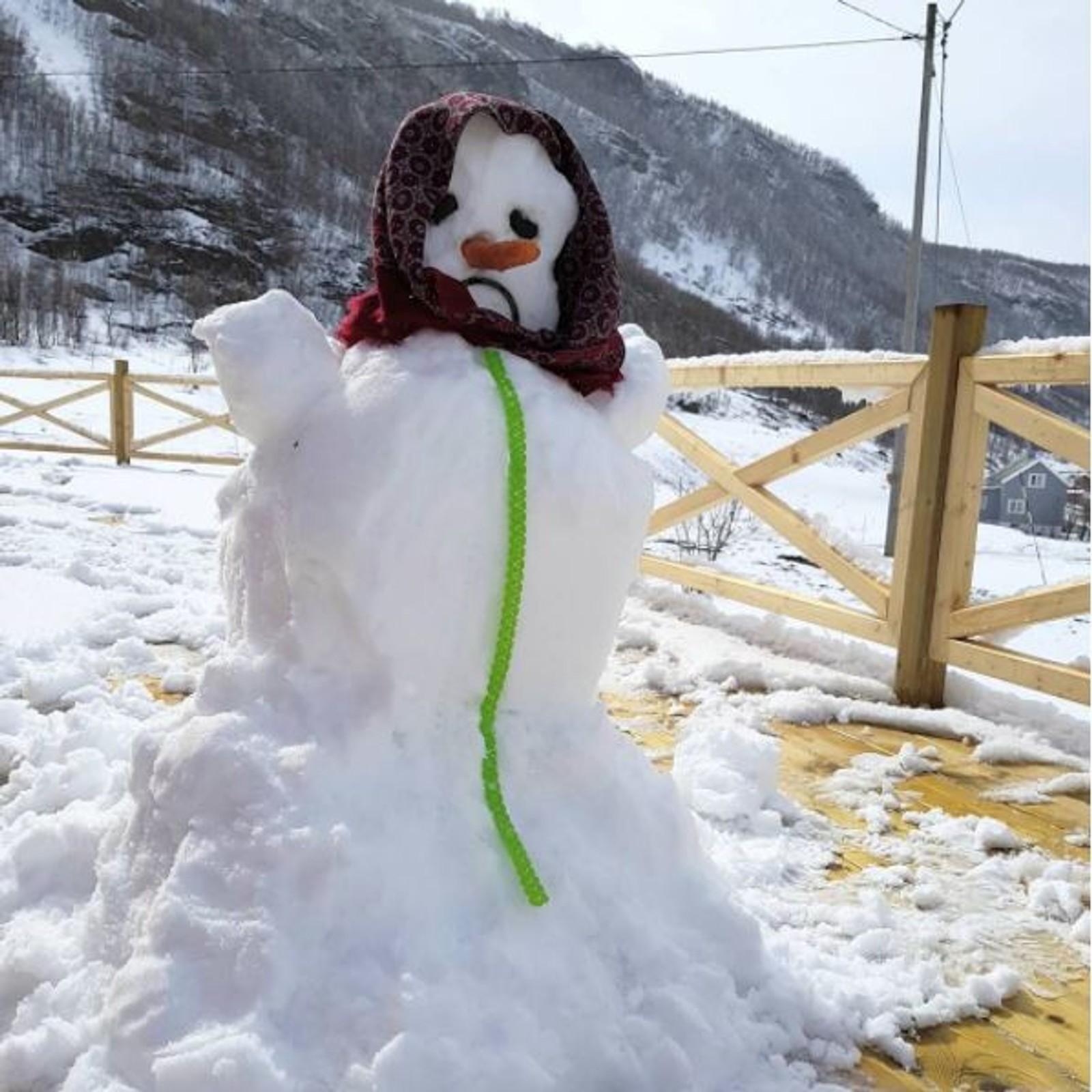 Snefrid kom på besøk i feil måned.