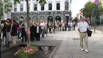 Oslo er i sorg etter terrorangrepet