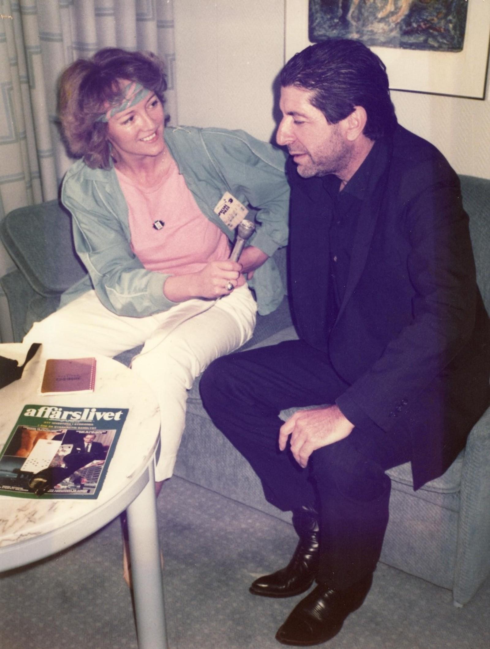 INTERVJU: Lisa Kristin Strindberg er én av de som har fått intervjue musikeren.