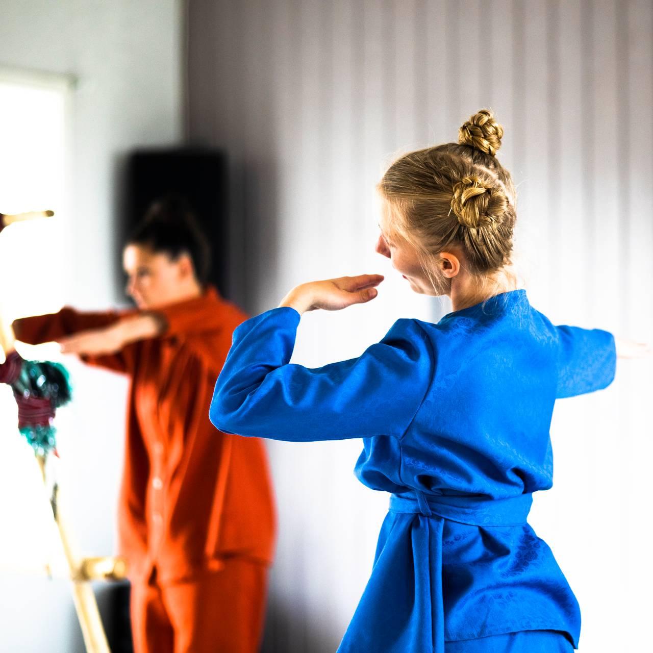 Generalprøve av den samiske halvtimen av Ramona Salo Myrseth.