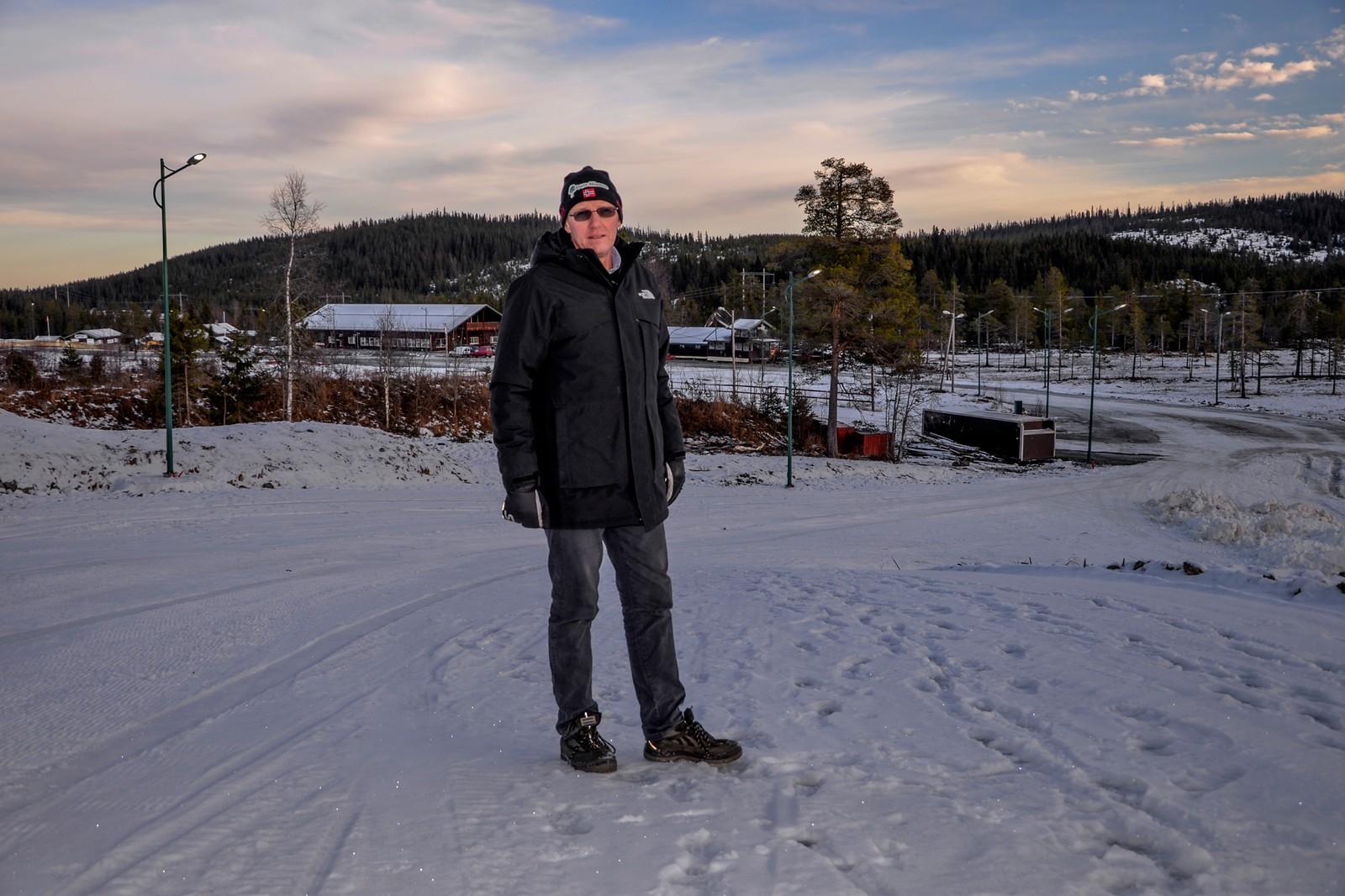 En stolt leder av Lygna Skisenter, Terje Nilsen.