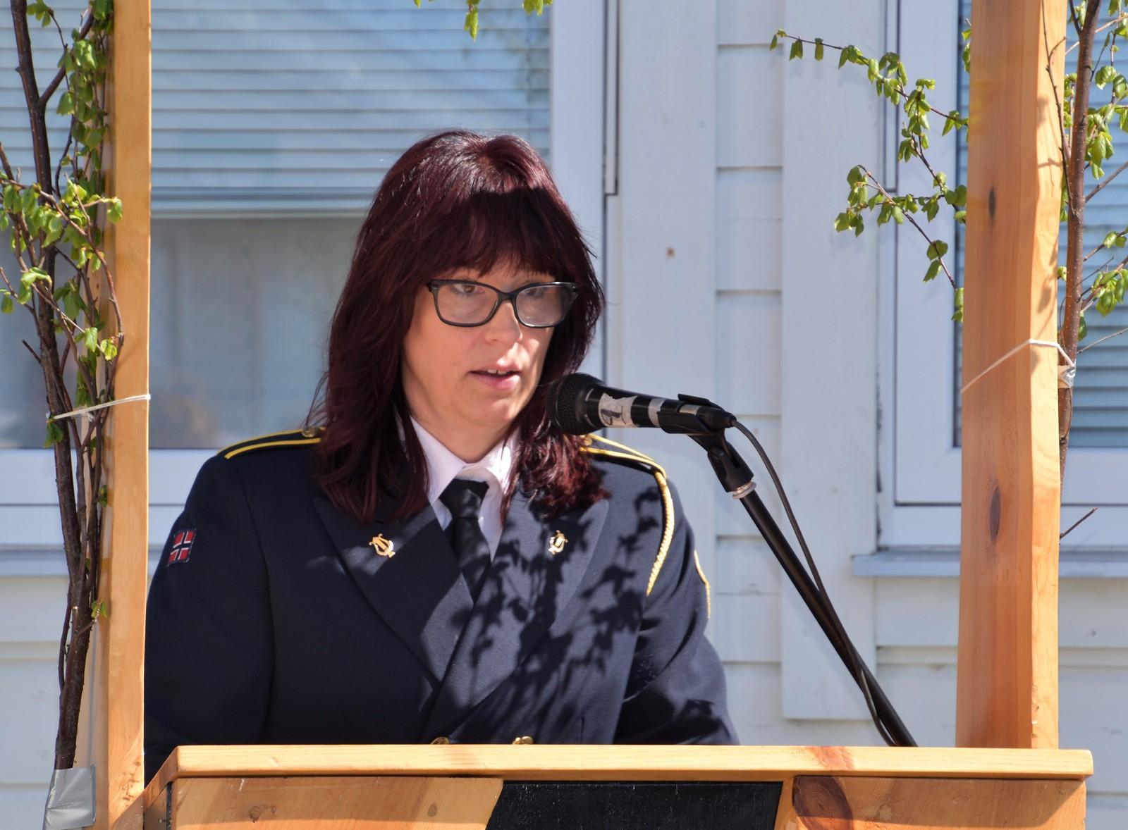 Årets 17.mai-taler i Bud var Rita Fjæstad.