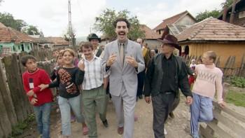 Sacha Baron Cohen som liksomkasaksthaneren Borat