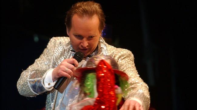 Sirkusdirektør Jan-Ketil Smørdal. Foto: Scanpix