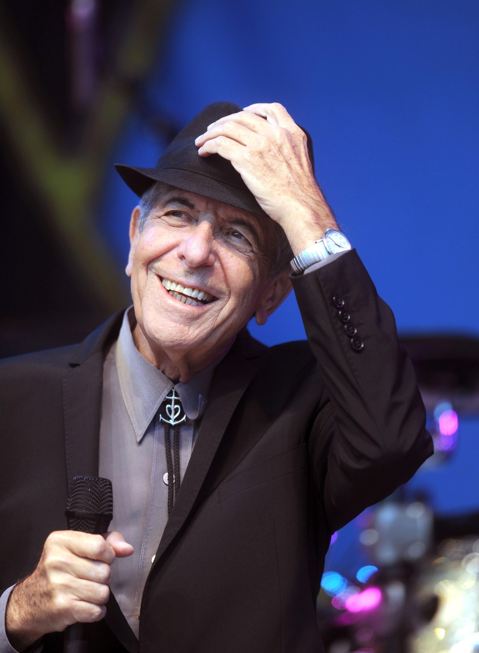 I MOLDE: I 2009 var det Moldejazz som fikk besøk av Leonard Cohen.
