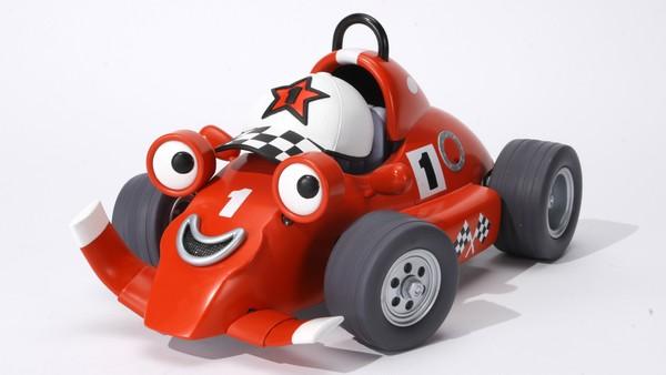 Britisk animasjonsserie. Rorri Racerbil ordner opp på Sølvstripa racerbane sammen med vennene sine. Der går det unna med artige påfunn.