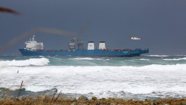 Lasteskipet «Tide Carrier» i trøbbel på Jæren