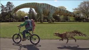 Dinosaurene kommer