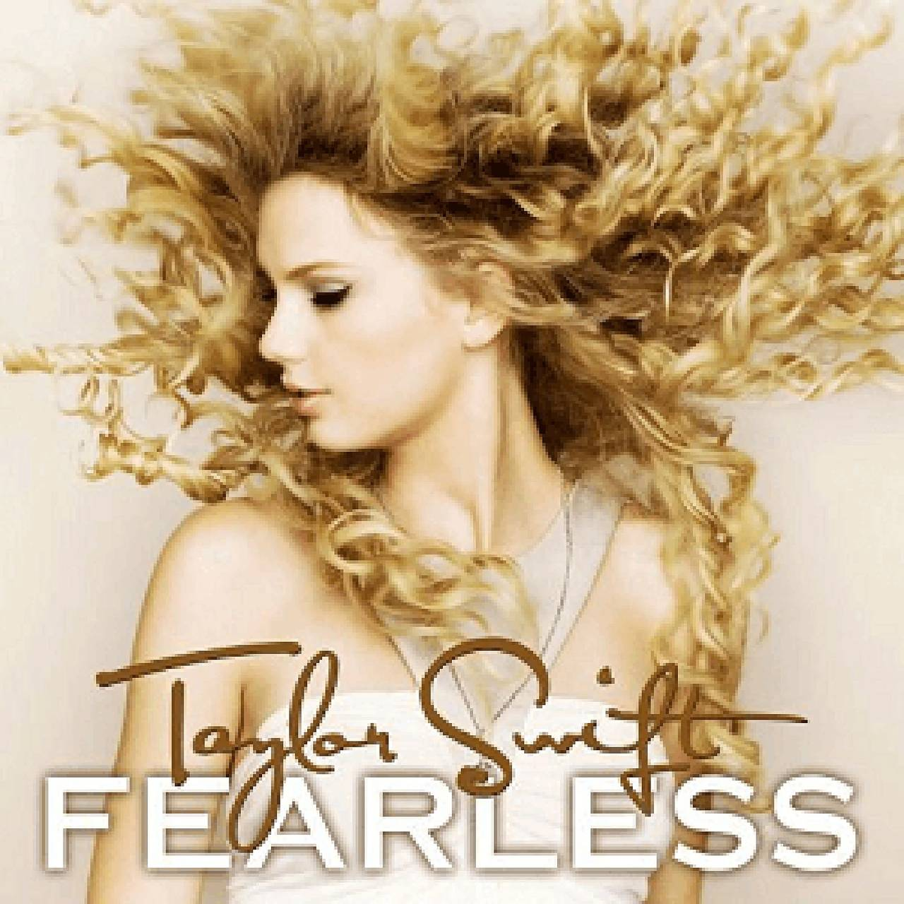 Taylor Swift Fearleass-albumcover