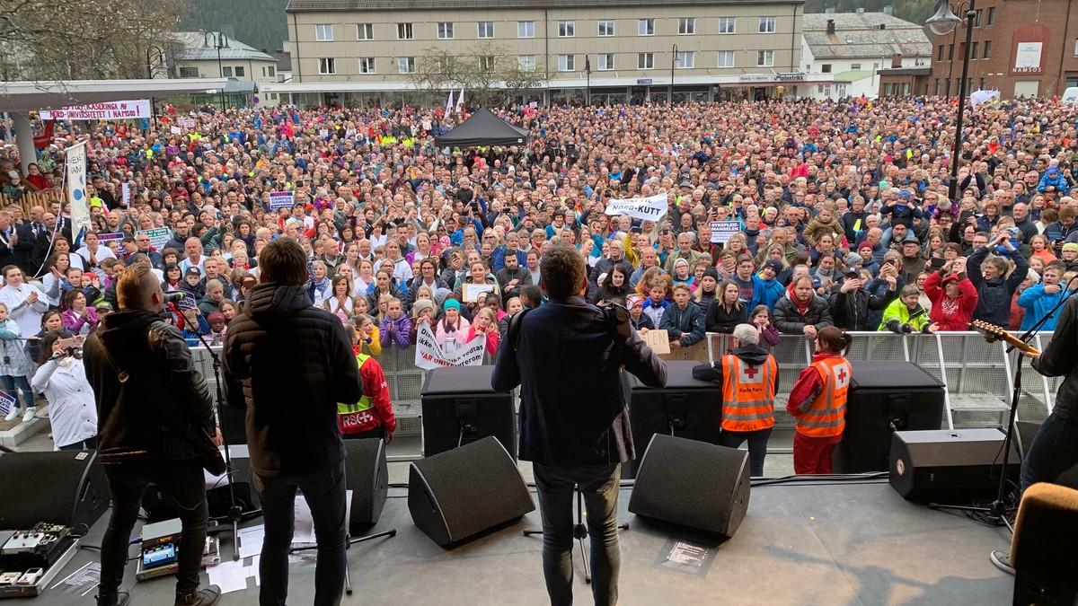 6000 møtte opp til D.D.E.s protestkonsert