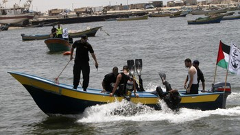 Video Hamas forbereder havnen