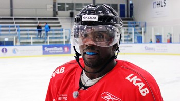 Ishockeyspilleren Adrian Alvarstein Bockelie