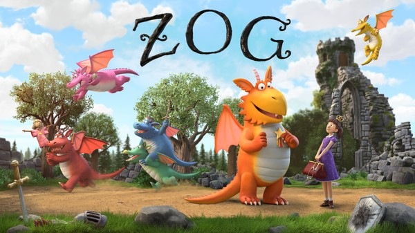 Dragen Zog må lære mange dragekunster før han blir stor.