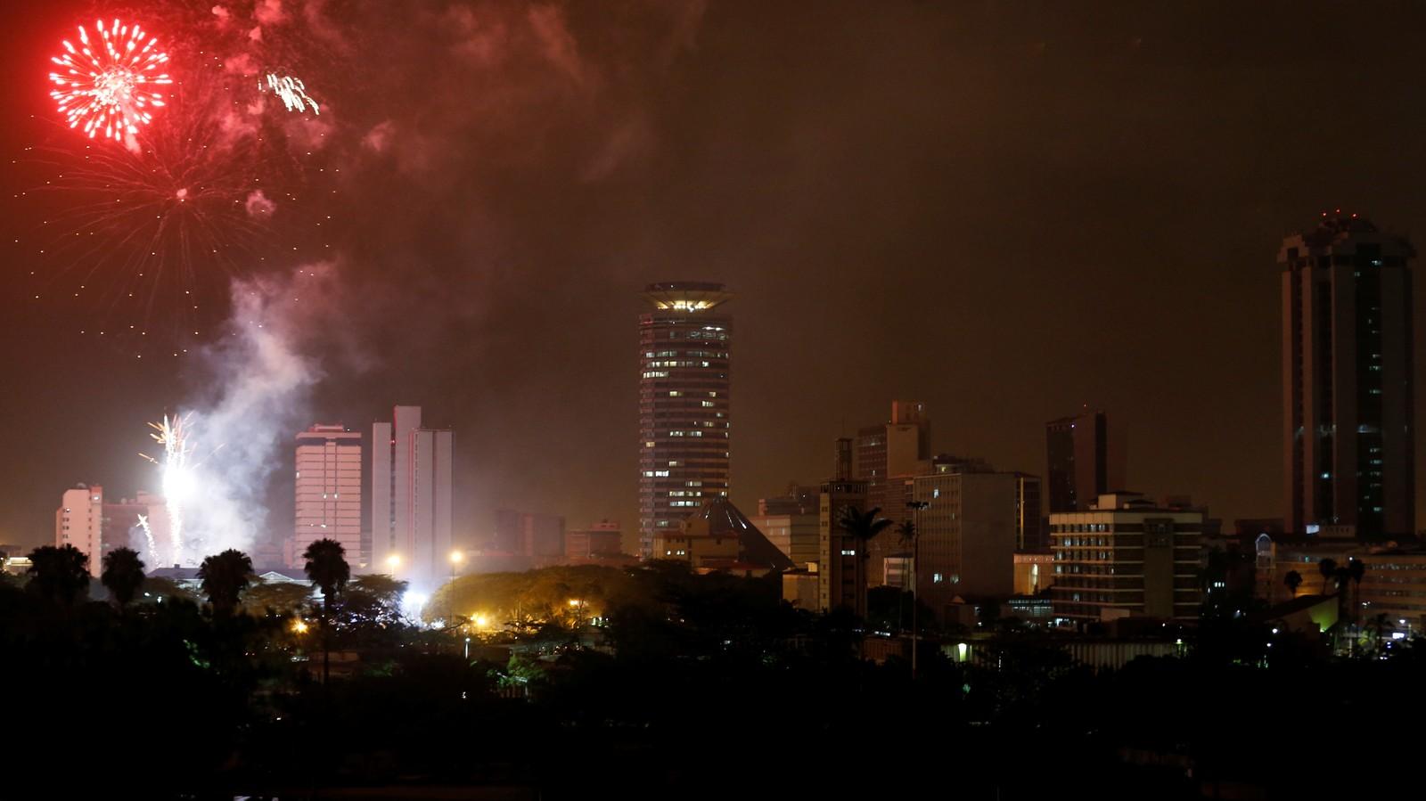 NAIROBI: Nyttårsfering