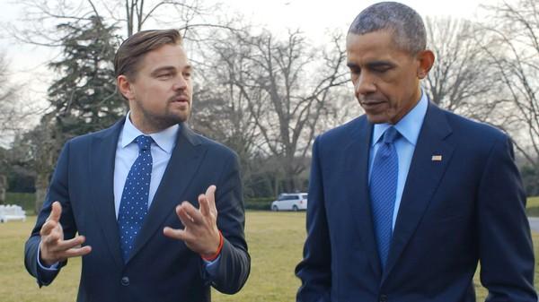 Leonardo DiCaprio roper varsko om miljøet