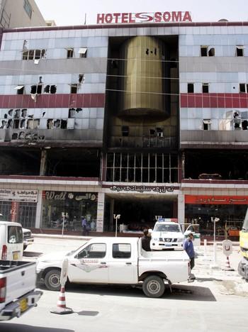 Minst 40 omkom i brannen på Soma hotell i Sulaymaniya