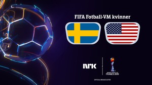 FIFA Fotball-VM kvinner: Sverige - USA