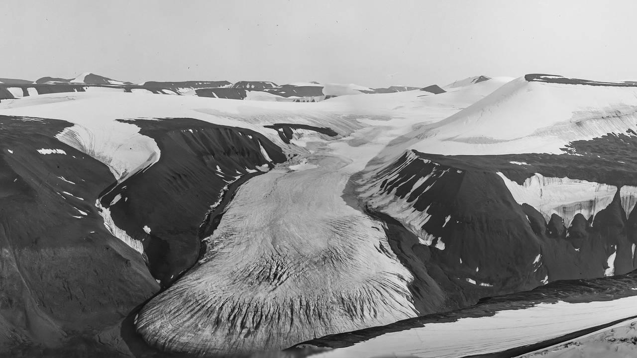Rieperbreen på Svalbard