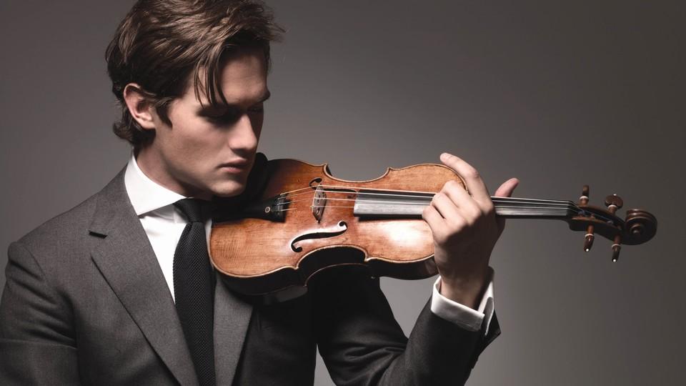 Fiolinisten som også ble modell