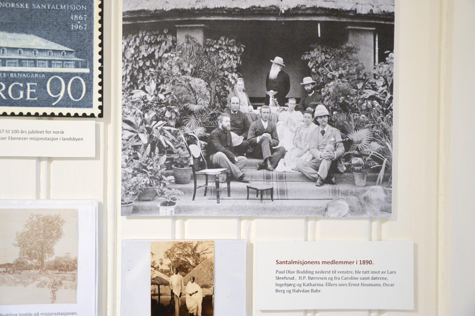 Santalmisjonens medlemmer i 1890.