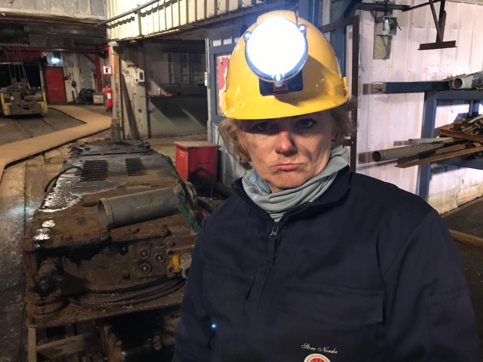Siss Vik i Gruve 3 på Svalbard.