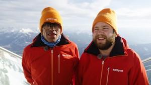 Special Olympics: Special Olympics - Mats og Erling i Østerrike