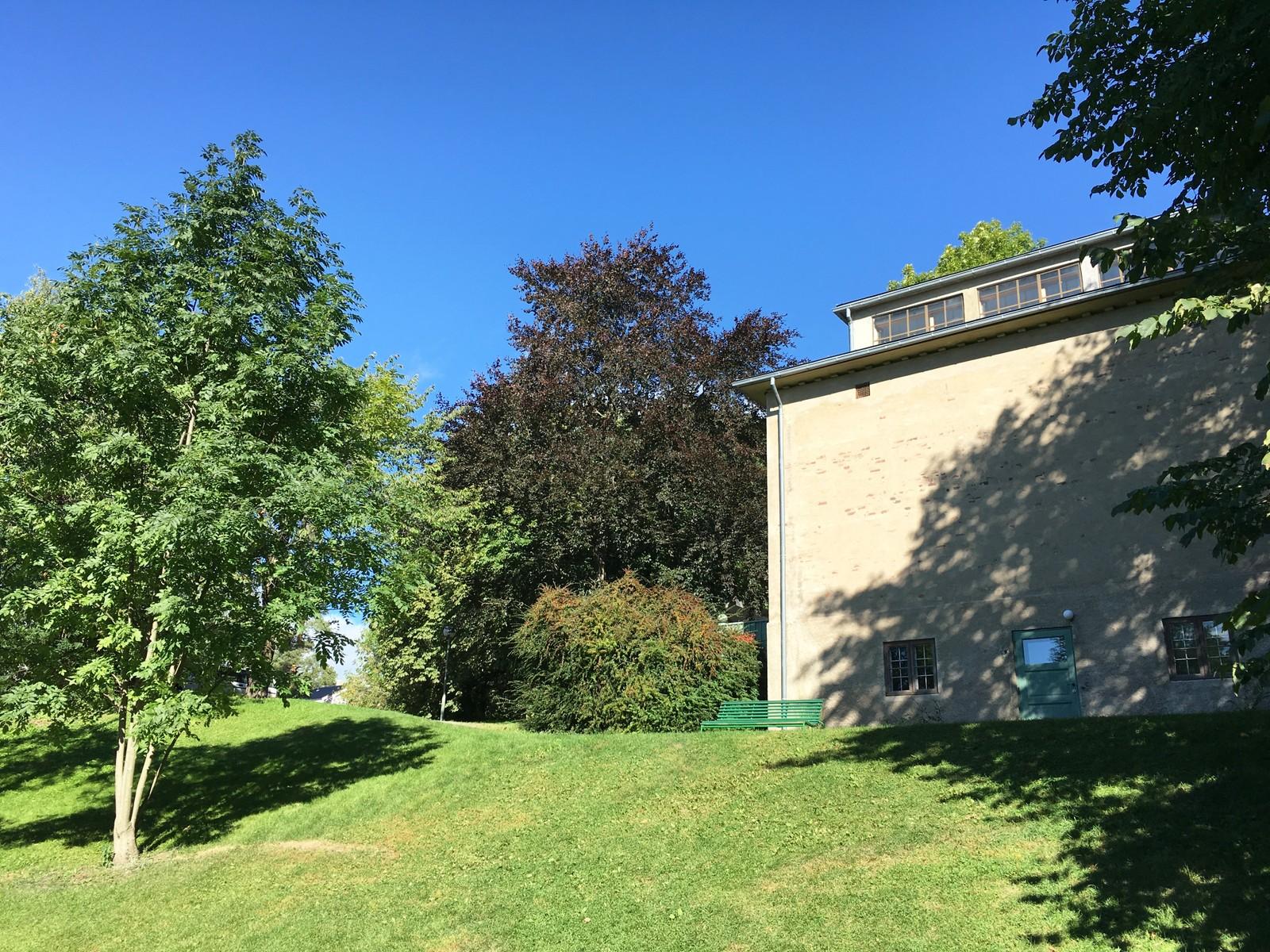 Dette er Munchs atelier sett fra en annen kant.