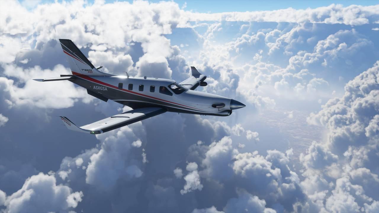 DRØMMEN OM Å FLY: «Microsoft Flight Simulator» er en herlig tilfredsstillelse av drømmen om å kunne fly.