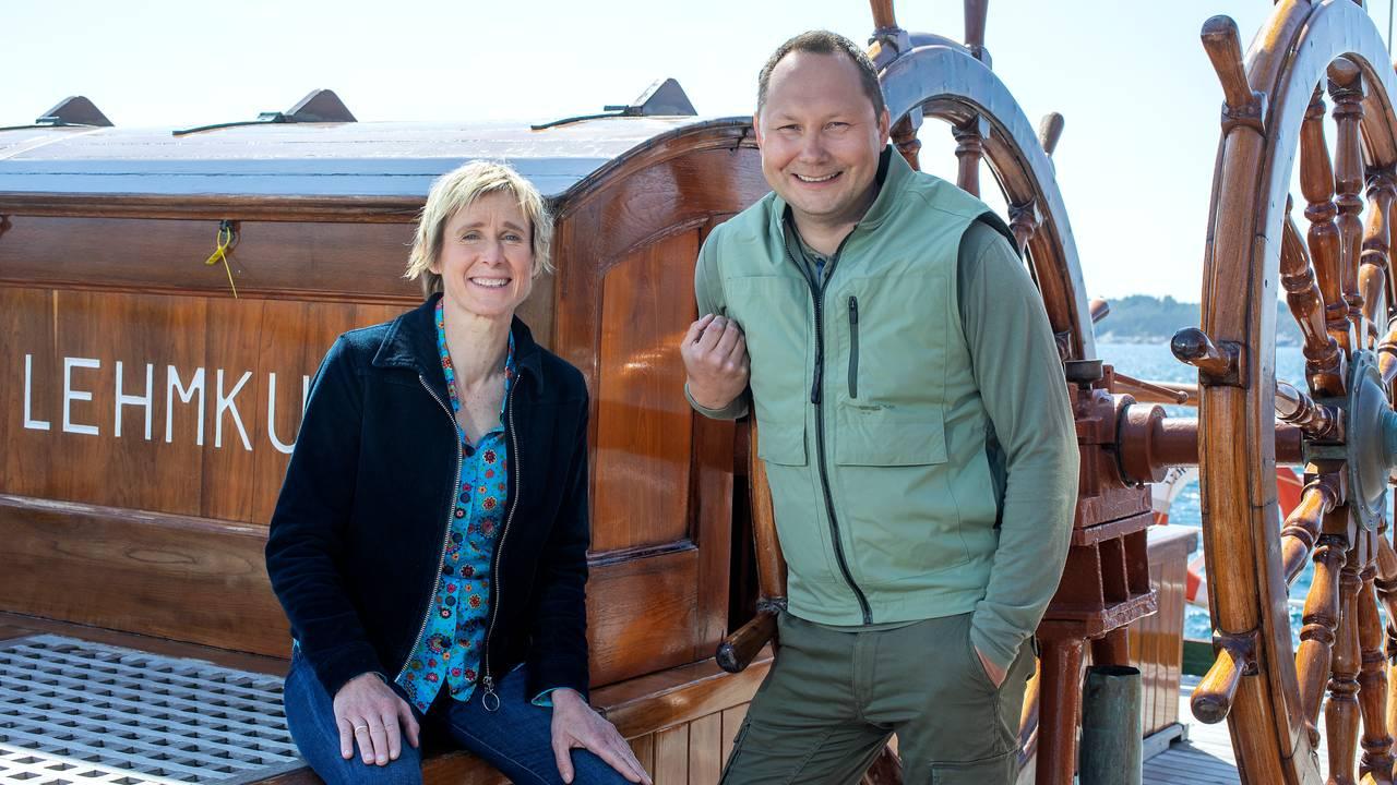 Linda Eide og Ronald Pulk
