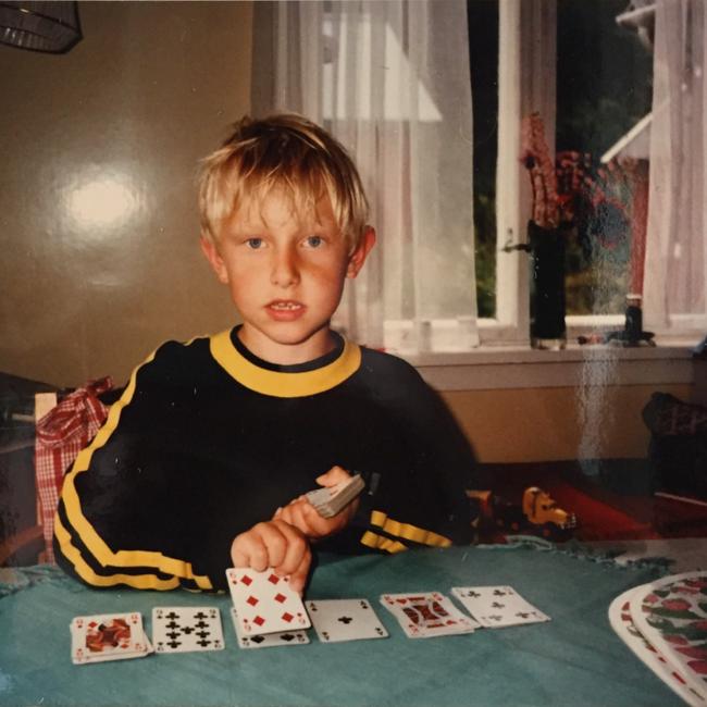 Mats Moe som barn