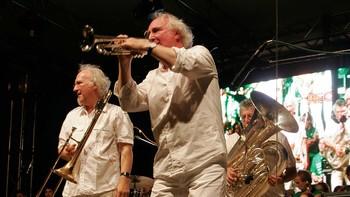 Brazz Brothers holder konsert i Mostar Bosnia- Herzegovina