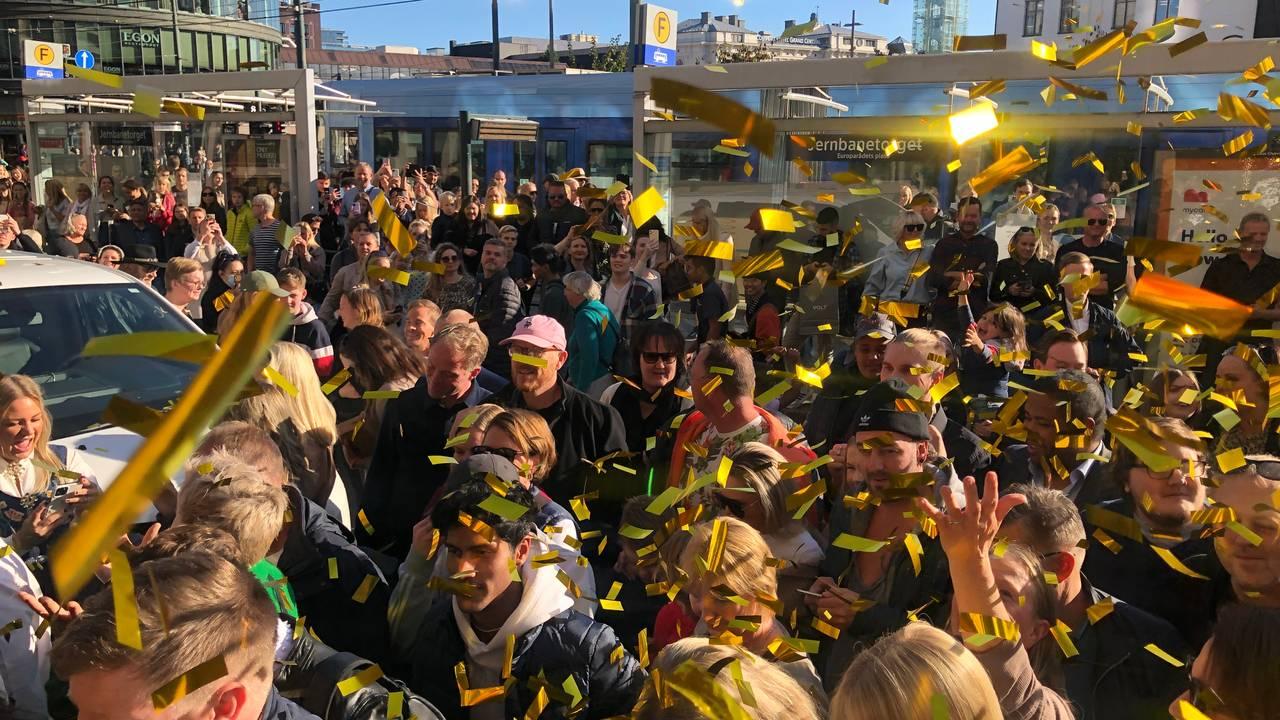 Gjenopningsfest på The Hub i Oslo