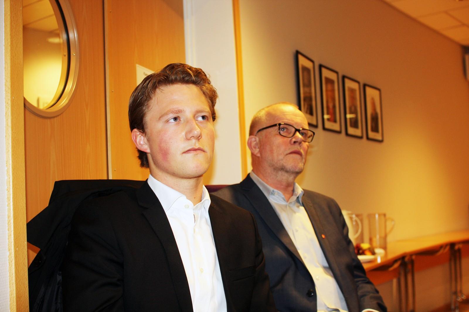 Sekretær Øydis Ziem Rydland, utvalgsleder Emil Gadolin og opplæringsdirektør Svein Heggheim