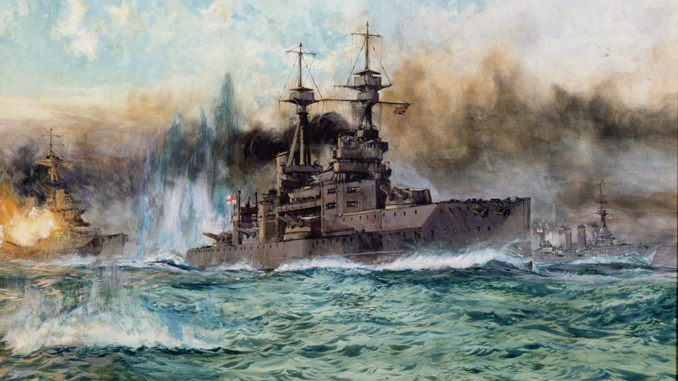 Første verdskrig - dei avgjerande sjøslaga