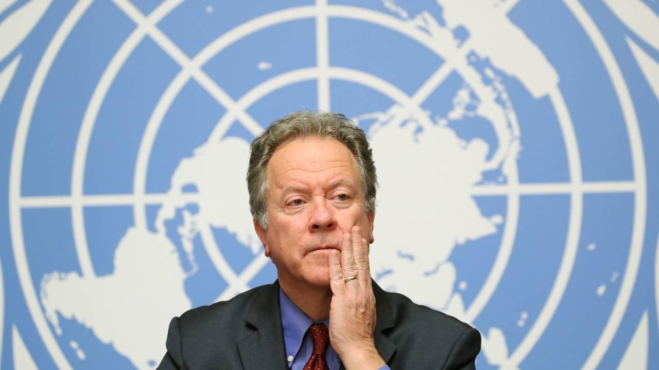David Beasley, leder for Verdens matvareprogram.