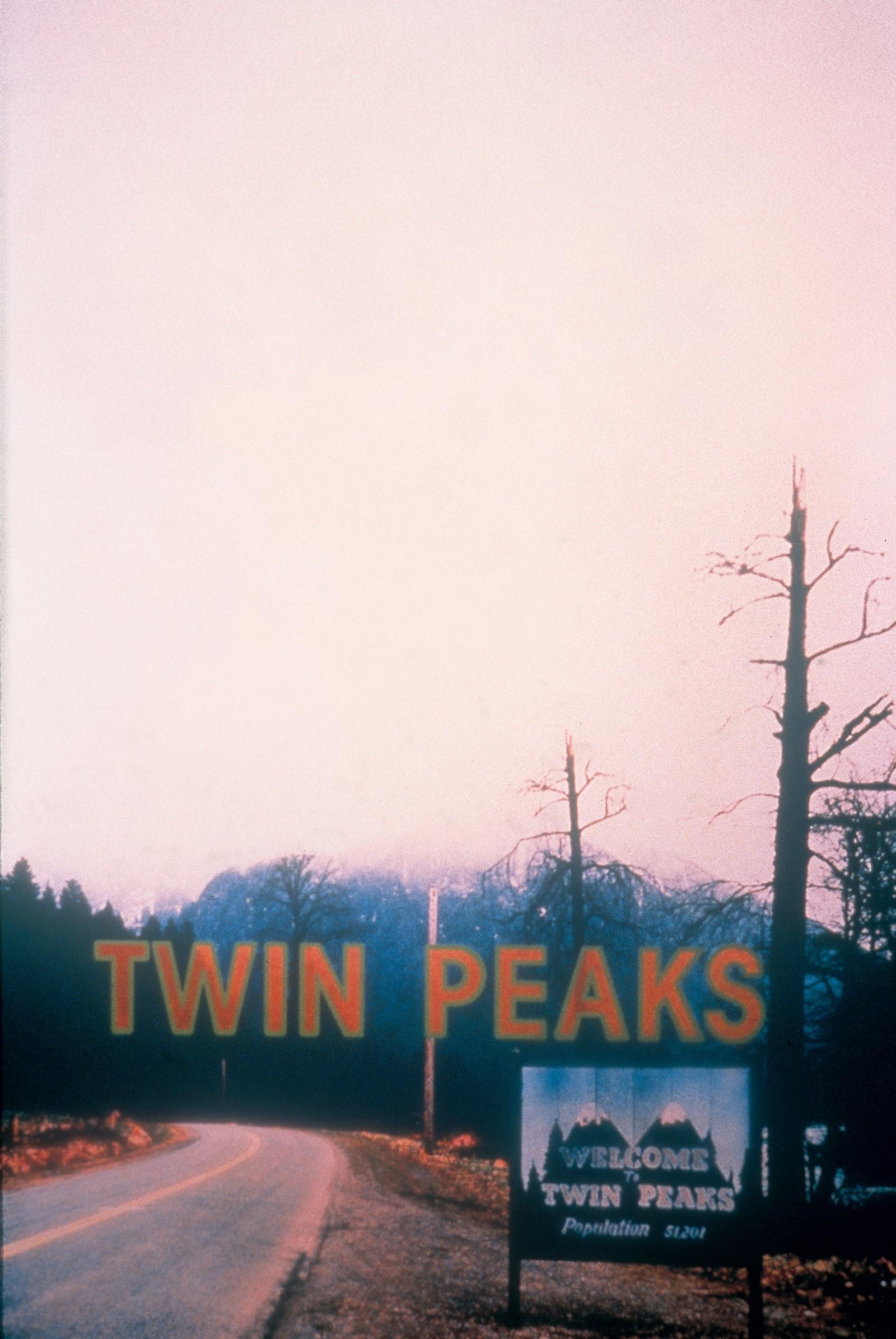 På vei inn til Twin Peaks