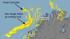 Uvær i anmarsj - Foto: Heidi Kjærstad @kjaerstadheidi