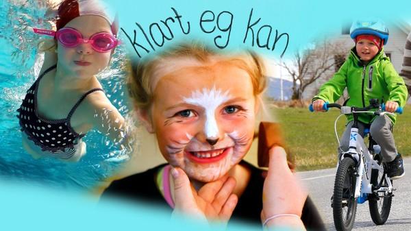 Barn må gjere mange ting for første gang. Klart eg kan er med barn når dei gjer ting dei håpar å få til. Norsk dokumentarserie.