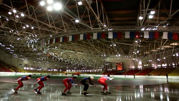 The Krylatskoye ice center