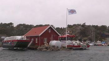 Østfold unngår ekstremversjonen av «Tor», men i ettermiddag var uværet innom Østfoldkysten.